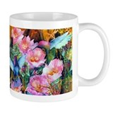 Hummingbirds and Cactus Mug