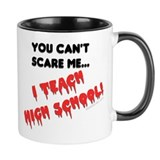 can't scare elementary school teachers Small Mugs