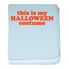 This is my Halloween Costume baby blanket