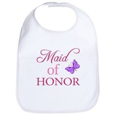 Maid Of Honor (Butterfly) Bib