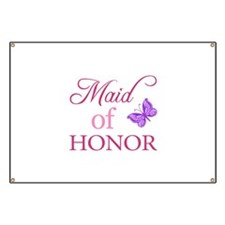 Maid Of Honor (Butterfly) Banner