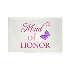 Maid Of Honor (Butterfly) Rectangle Magnet
