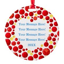 Personalize It Ornament