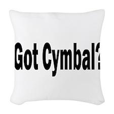 Cymbal Woven Throw Pillow