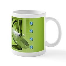 Green Star Trek Coffee Mug