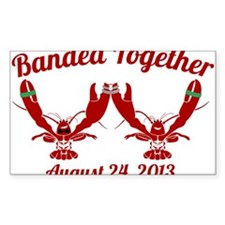 lobster wedding Decal