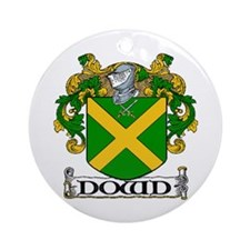 Dowd Coat of Arms Ornament (Round)