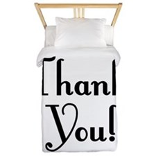 Thank You Twin Duvet