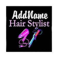 SNAZZY HAIR STYLIST Queen Duvet