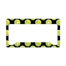 Tennis Balls License Plate Holder