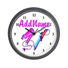 FABULOUS HAIR Wall Clock