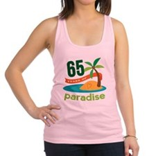 65th Anniversary (tropical) Racerback Tank Top