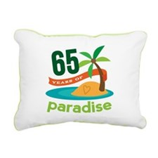 65th Anniversary (tropical) Rectangular Canvas Pil