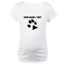 Custom Dog Paw Print Shirt