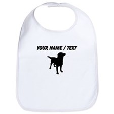 Custom Dog Silhouette Bib
