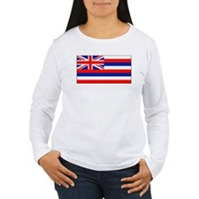 Hawaii Hawaiian Flag Women's Long Sleeve Shirt