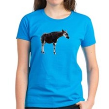 Okapi Women's Black T-Shirt
