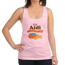 Aidi Dog Mommy Racerback Tank Top