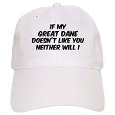 If my Great Dane Baseball Cap