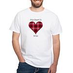 Heart - Brice White T-Shirt
