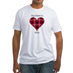 Heart - Brice Fitted T-Shirt