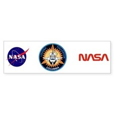 STS-3 Columbia Bumper Sticker