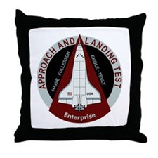 Enterprise Landing Test Throw Pillow