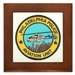 Philadelpia PD Air Ops Framed Tile