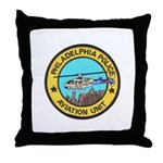 Philadelpia PD Air Ops Throw Pillow