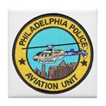 Philadelpia PD Air Ops Tile Coaster