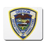 Oregon Corrections Mousepad