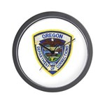 Oregon Corrections Wall Clock