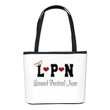 LPN Nurse Bucket Bag