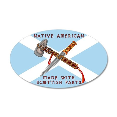 Native American/Scots Wall Decal