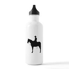 Canadian Mountie Silhouette Water Bottle