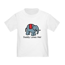 Daddy Loves Me Elephant T