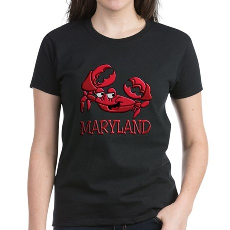 Maryland Crab Women's Dark T-Shirt