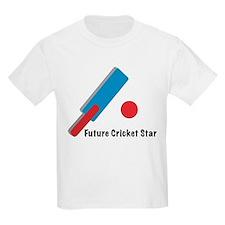 Future Cricket Star Kids T-Shirt