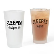 Sleeper Agent Drinking Glass