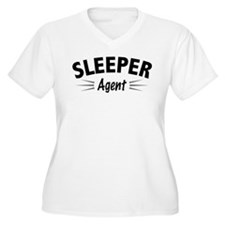 Sleeper Agent Plus Size T-Shirt