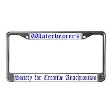 Waterbearer License Plate Frame