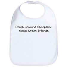 Polish Lowland Sheepdogs make Bib