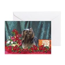 Lhasa Apso Christmas Sassy Greeting Cards (Package