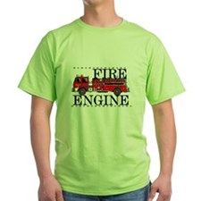 Red Fire Engine T-Shirt