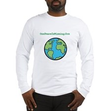 OnePeaceIsMissing.Com Long Sleeve T-Shirt