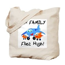 Our Family Flies High Tote Bag