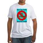 Save the Firefly Fitted T-Shirt