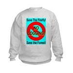 Save the Firefly Kids Sweatshirt