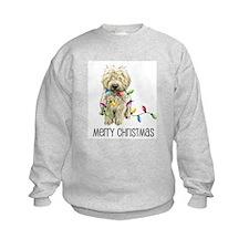 Doodle Christmas Lights Sweatshirt