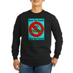 Save the Firefly Long Sleeve Dark T-Shirt